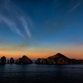 Cabo Lands End by Monte Arnold - Landscapes Travel ( arch, waterscape, cabo, mexico, cabo san lucas, ocean, sunrise,  )