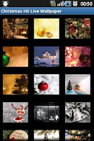 Screenshot of Christmas HD Live Wallpaper