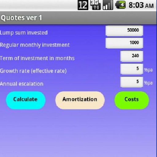 Investment Quotes LOGO-APP點子