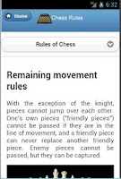 Screenshot of Chess Rules