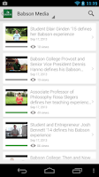 Screenshot of BabsonMobile 2.0