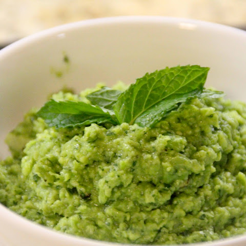Spring Pea Puree with Mint