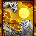 Tiger & Gold Dragon icon