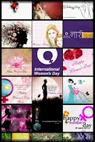 Screenshot of Women's Day Wallpapers