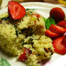 Strawberry Spinach Couscous