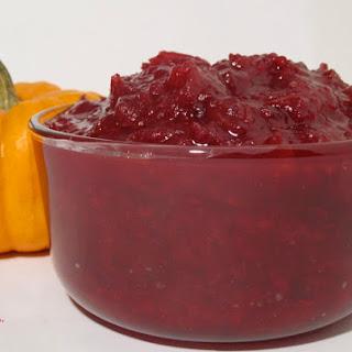 Cranberry Beet Sauce Recipes
