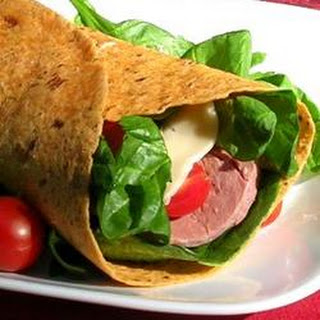 Beef and Swiss Wrap