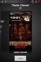 Screenshot of CM7 MDPI Theme: Rusted
