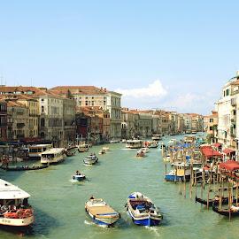 Venice  by Marko Baškarad - City,  Street & Park  Street Scenes