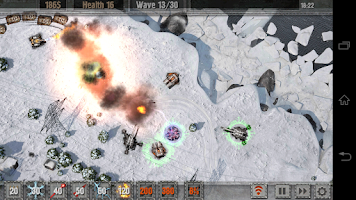 Screenshot of Defense zone 2 HD