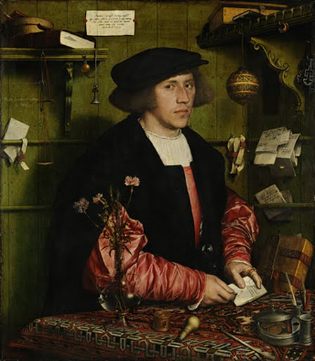 The Merchant Georg Gisze, Hans Holbein the Younger