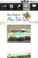 Screenshot of Best Western Aku Tiki