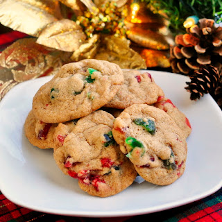 Chewy Light Fruitcake Cookies