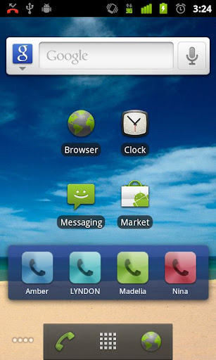 Dialer skin Applications - Android - Appszoom