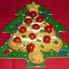 Holiday Italian Herb Crescent Christmas Trees