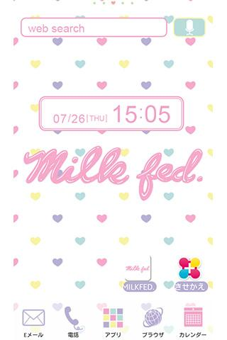 MILKFED. HEART for[+]HOMEきせかえ