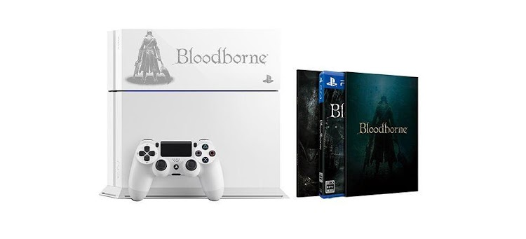 Sony unveils special edition Bloodborne PS4s for Japan