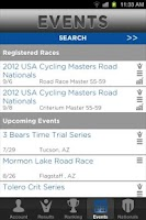 Screenshot of My USA Cycling