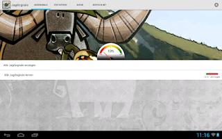 Screenshot of Jagdsignale