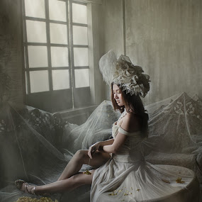 The Longing by Ceejae Chiu - People Portraits of Women