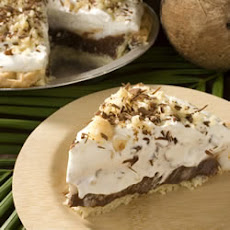 Coconut (Haupia) and Chocolate Pie