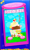Screenshot of Frozen Yogurt Maker