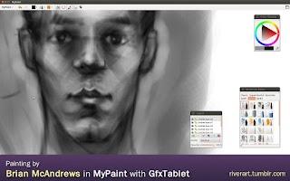 Screenshot of GfxTablet