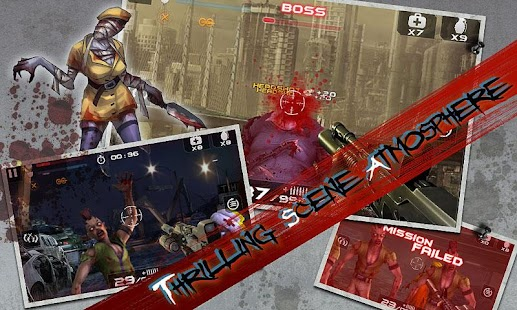 APK Game Blood Zombies HD for BB, BlackBerry