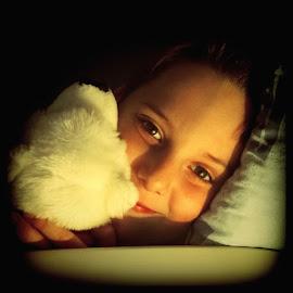 BEARably soft by Emina Dedić - Instagram & Mobile Other ( dreaming, reflection, teddy bear, joy, shining, shine, eyes, love, care, glitter, light, shiny, bed, white, bed time, loving, sleep, sweet dreams, soft, sweet, hapiness, caring, white bear, polar bear, boy )