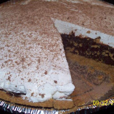 Reduced Fat Double Layered Chocolate Pie