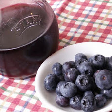 Blueberry Pomegranate Infused Red Wine Vinegar