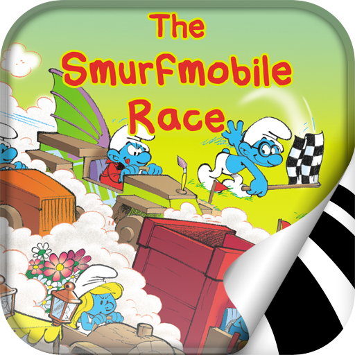 The Smurfs - Smurfmobile Race LOGO-APP點子