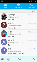 Screenshot of Smart Notify - SMS/Missed Call