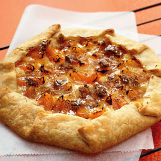 Almond, Apricot, and Cream Cheese Crostata