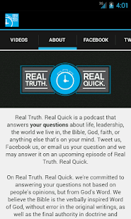 Download Real Truth. Real Quick. APK for PC