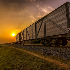 Boxcar by Liquid Lens - Transportation Trains