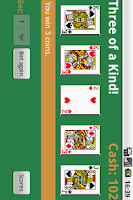 Screenshot of Free Draw Poker Reloaded