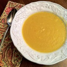 Butternut Squash and Turnip Soup