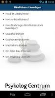 Screenshot of Mindfulness i hverdagen