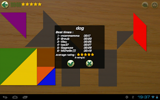 Screenshot of Tangram