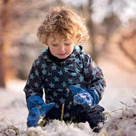 Last Snow of the Year by Dominic Lemoine Photography - Babies & Children Children Candids