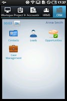 Screenshot of Workforce Track Simple ERP