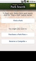 Screenshot of ParkSearch