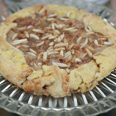 Rustic Pear Tart with Toffee Sauce