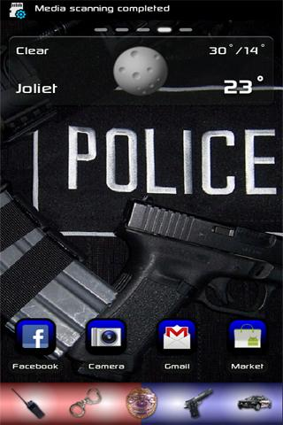 Police Theme for Go Launcher