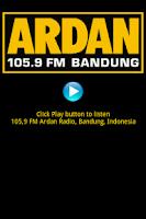 Screenshot of Radio Ardan