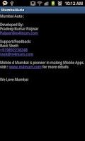 Screenshot of Mumbai Auto
