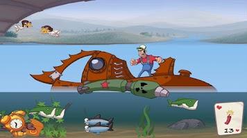 Screenshot of Super Dynamite Fishing Premium