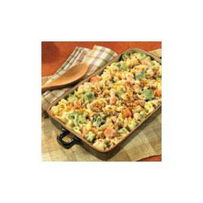 Chicken Pasta and Vegetable Casserole