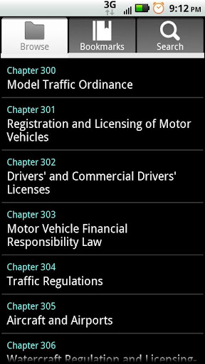 Missouri Motor Vehicle Code